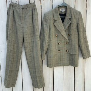 Vintage John Meyer Pants Suit High Waist Size 8
